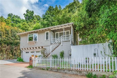 Los Angeles County Single Family Home Active Under Contract: 9736 Yoakum Drive