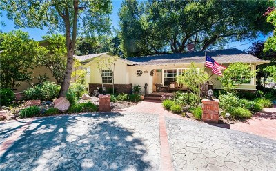 Newhall Single Family Home For Sale: 24225 Cross Street
