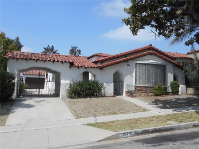 Los Angeles CA Single Family Home For Auction: $699,000