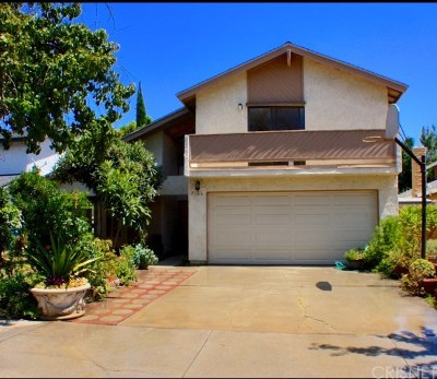 West Hills Single Family Home For Sale: 7106 Asman Avenue