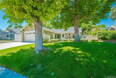 Los Angeles County Single Family Home Active Under Contract: 27623 Maple Ridge Circle