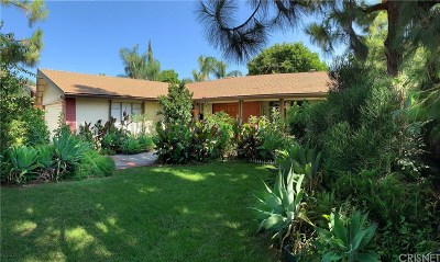 Northridge Single Family Home Active Under Contract: 19160 Napa Street
