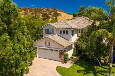 Stevenson Ranch Single Family Home Active Under Contract: 25902 Franklin Lane