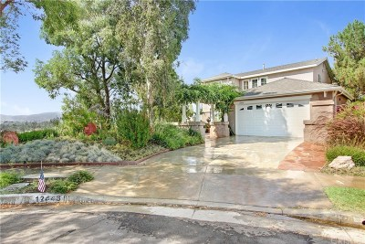 Sylmar Single Family Home Active Under Contract: 12448 Edgecliff Avenue