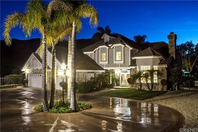 Agoura Hills Single Family Home Active Under Contract: 29869 Vista Del Arroyo