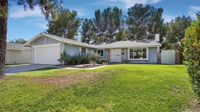Canyon Country Single Family Home Active Under Contract: 29229 Florabunda Road