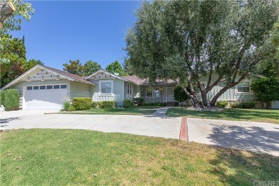 Granada Hills Single Family Home For Sale: 17909 Lahey Street