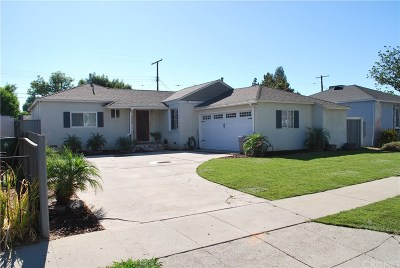 Reseda Single Family Home For Sale: 6608 Jamieson Avenue