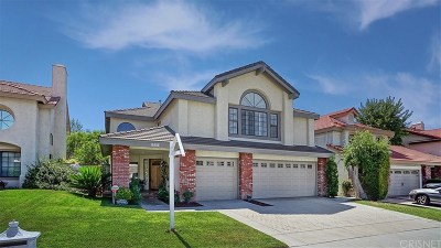 Stevenson Ranch Single Family Home For Sale: 25534 Hardy Place