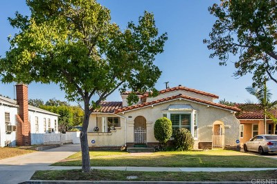 Inglewood Single Family Home For Sale: 3508 West 83rd Street