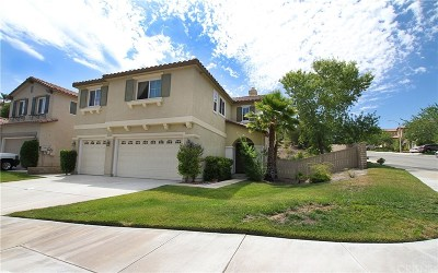 Canyon Country Single Family Home For Sale: 17368 Summit Hills Drive