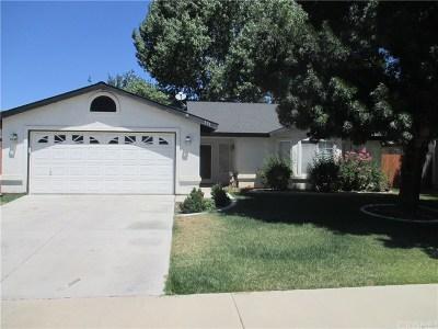 Tehachapi Single Family Home For Sale: 391 Apple Way