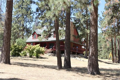 Frazier Park Single Family Home For Sale: 11265 Steinhoff Road
