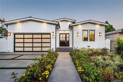 Sherman Oaks Single Family Home For Sale: 4540 Tobias Avenue