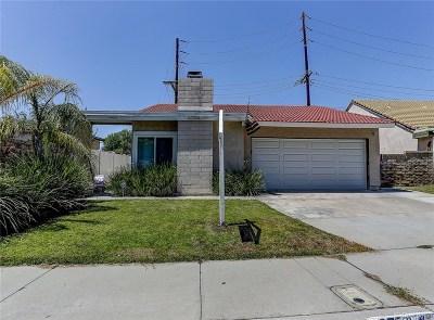 Saugus Single Family Home For Sale: 27581 Linda Joyce Drive