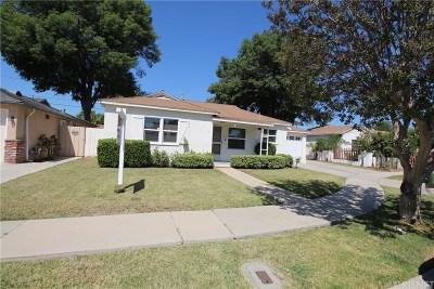 Reseda Single Family Home For Sale: 6845 Melvin Avenue