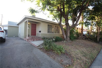 Reseda Single Family Home For Sale: 7327 Vanalden Avenue
