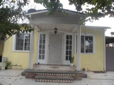 North Hollywood Single Family Home For Sale: 11640 Hamlin Street