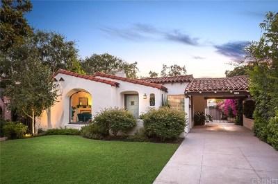 Glendale Single Family Home Active Under Contract: 1141 Cordova Avenue