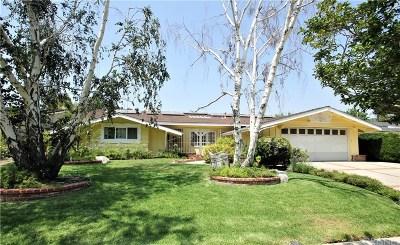 Granada Hills Single Family Home For Sale: 17147 Orozco Street