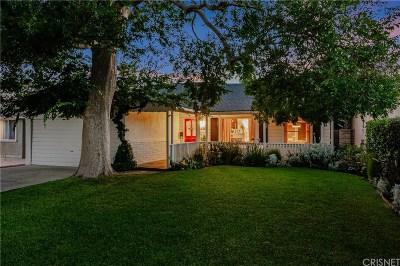 Sherman Oaks Single Family Home For Sale: 4543 Longridge Avenue