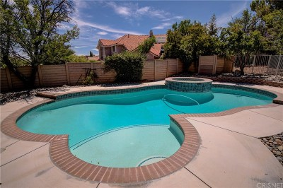 Palmdale Single Family Home For Sale: 41758 Kensington Circle