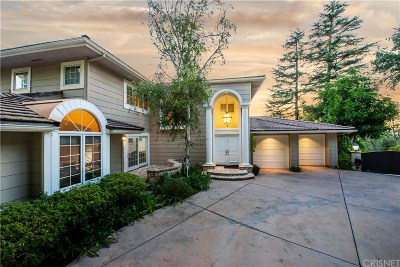 Encino Single Family Home For Sale: 4338 Bergamo Drive