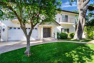 Sherman Oaks Single Family Home For Sale: 14221 Chandler Boulevard