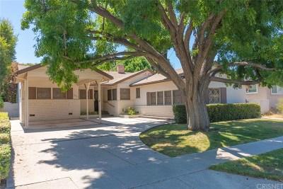 Reseda Single Family Home For Sale: 19616 Mobile Street