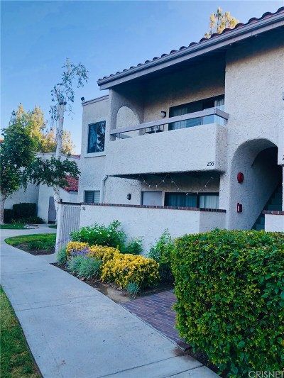 Newhall Condo/Townhouse For Sale: 25023 Peachland Avenue #256