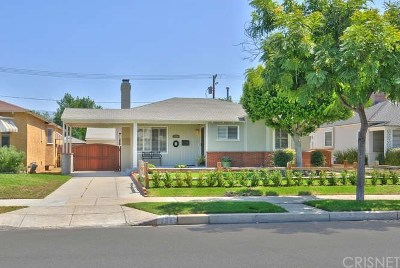 Burbank Single Family Home For Sale: 234 South Sparks Street