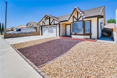 Palmdale Single Family Home For Sale: 5243 Sunburst Drive