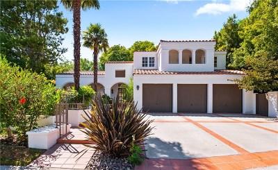 Calabasas Single Family Home For Sale: 4501 Park Marbella
