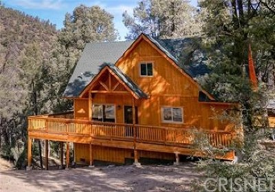 Pine Mountain Club CA Single Family Home For Sale: $279,900