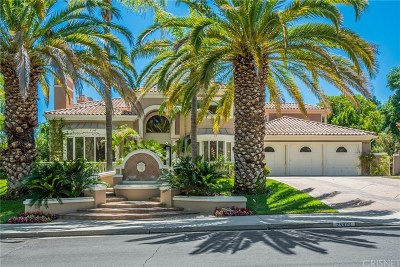 Calabasas Single Family Home Active Under Contract: 25920 Richmond Court