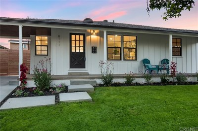 Single Family Home Active Under Contract: 8111 Glider Avenue
