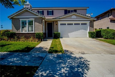 Newhall Single Family Home For Sale: 26132 Rene Veluzzat Way