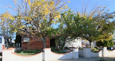 Mission Hills San Fernando Single Family Home For Sale: 9930 Burnet Avenue