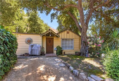 Sylmar Single Family Home For Sale: 12136 Spring Trails