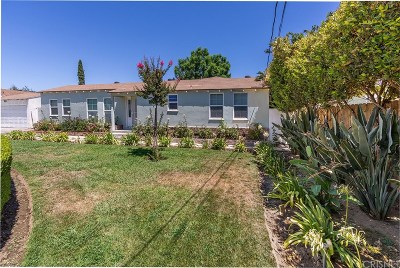 Single Family Home For Sale: 6824 Tobias Avenue