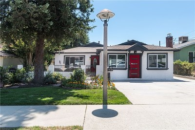 San Fernando Single Family Home For Sale: 12741 Borden Avenue