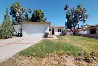 Northridge Single Family Home For Sale: 16751 Citronia Street