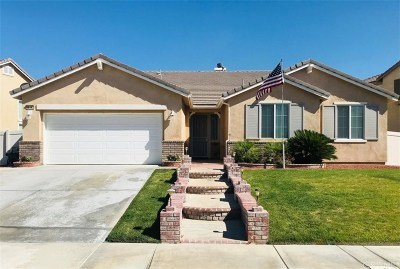Palmdale Single Family Home For Sale: 38162 Clermont Avenue