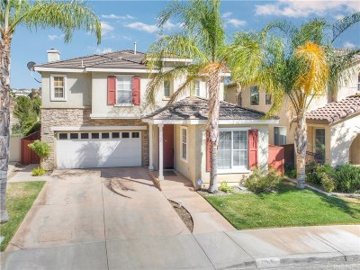 Saugus Single Family Home For Sale: 28630 Coloma Court