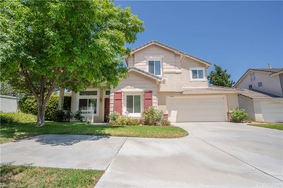 Stevenson Ranch Single Family Home For Sale: 25505 Chisom Lane
