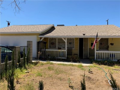 Palmdale Single Family Home For Sale: 202 East Avenue P2