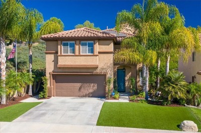 Castaic Single Family Home For Sale: 28011 Gibraltar Lane