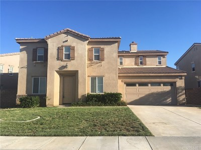Palmdale Single Family Home For Sale: 2130 Tangerine Street
