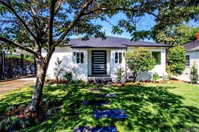 Sherman Oaks Single Family Home For Sale: 5301 Norwich Avenue