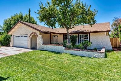 Saugus Single Family Home For Sale: 28265 Robin Avenue